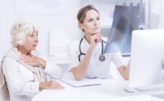 Visita pneumologica con ossimetria