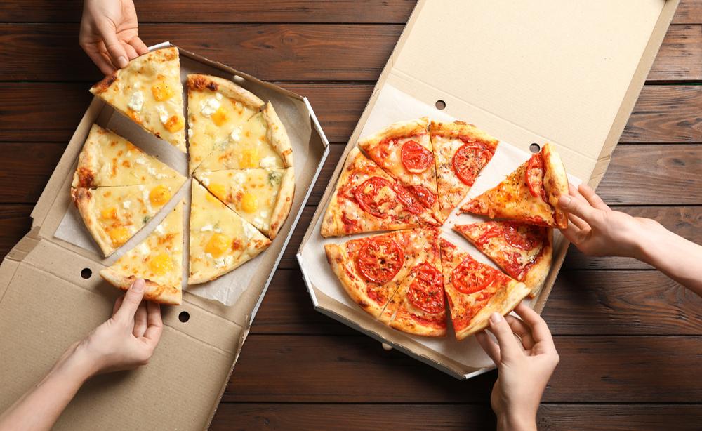 Cartoni pizze: trovate tracce di Bisfenolo A