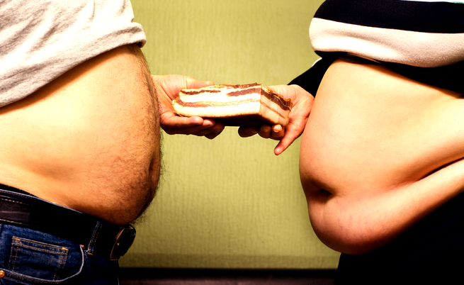 Il sovrappeso è contagioso?