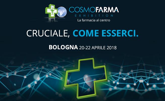 Cosmofarma 2018: Bologna, 20-22 aprile 2018