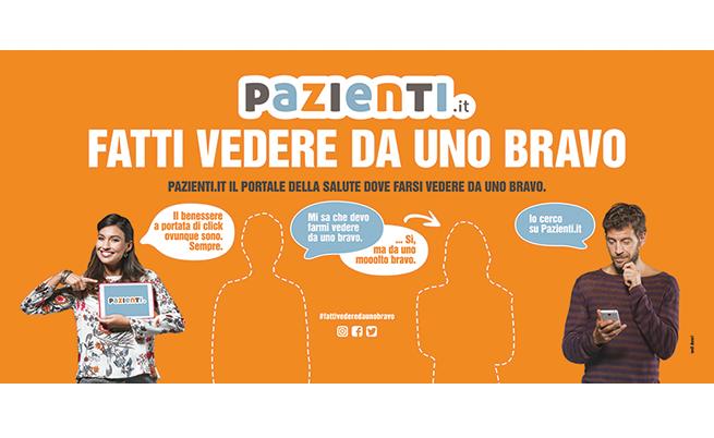 #FATTIVEDEREDAUNOBRAVO: la campagna pubblicitaria di Pazienti.it per il videoconsulto