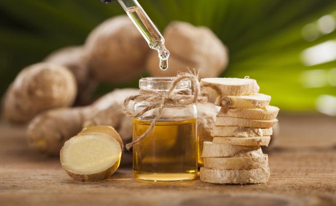 10 benefici dell'olio essenziale di zenzero