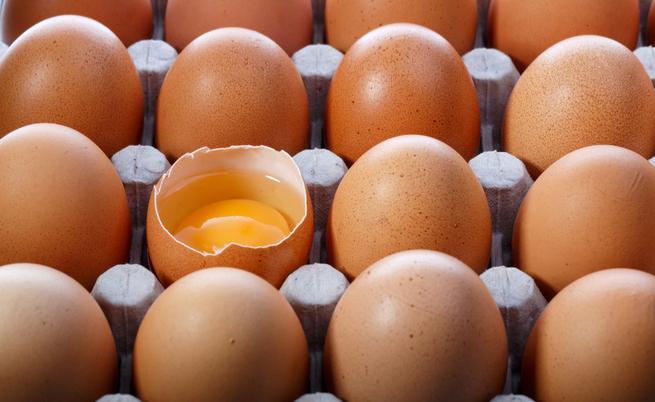 Uova per prevenire problemi della crescita
