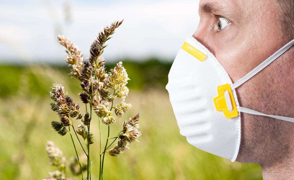 allergia ai pollini: i sintomi, come la congestione nasale, che disturbano i soggetti allergici alle graminacee in primavera