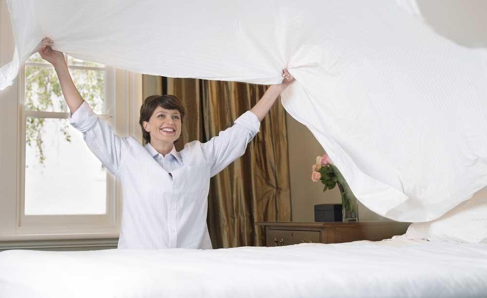 cambiare le lenzuola: ogni quanto