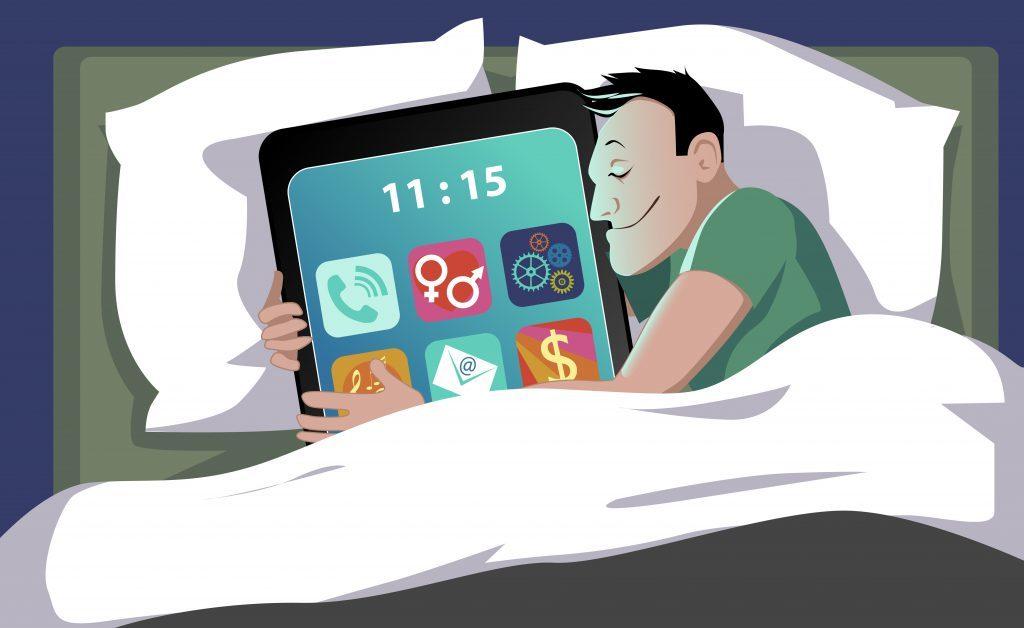 insonnia: la causa nei tablet?