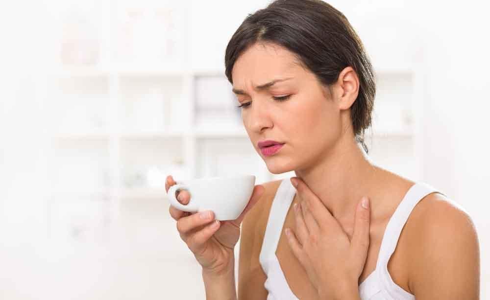 mal di gola: le diverse cause