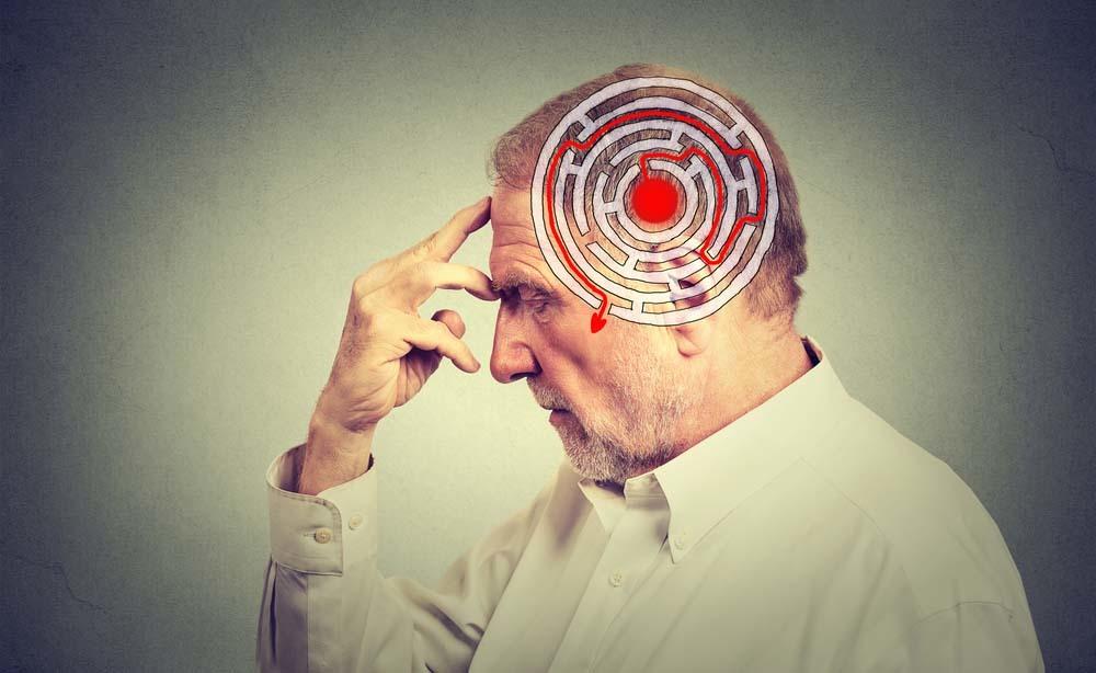 Alzheimer e problemi di orientamento.