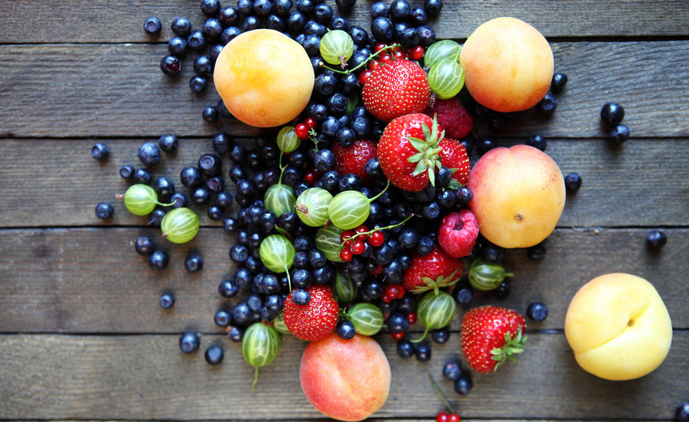 La frutta estiva.