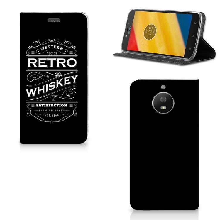Motorola Moto G5S Flip Style Cover Whiskey