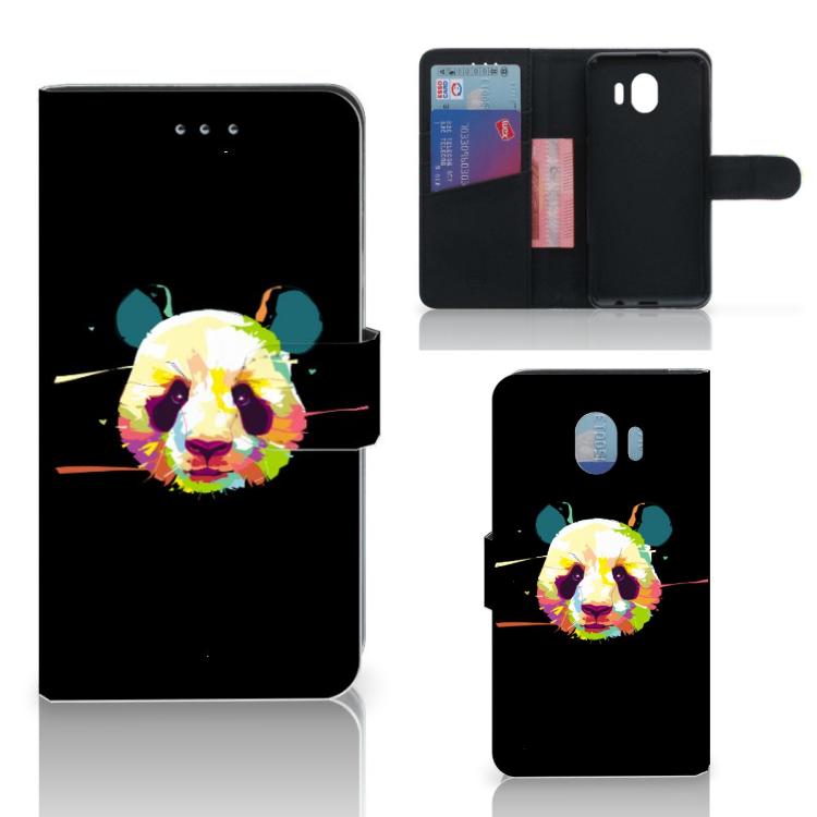 Samsung Galaxy J4 2018 Leuke Hoesje Panda Color
