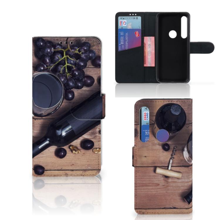 Motorola Moto G8 Plus Book Cover Wijn