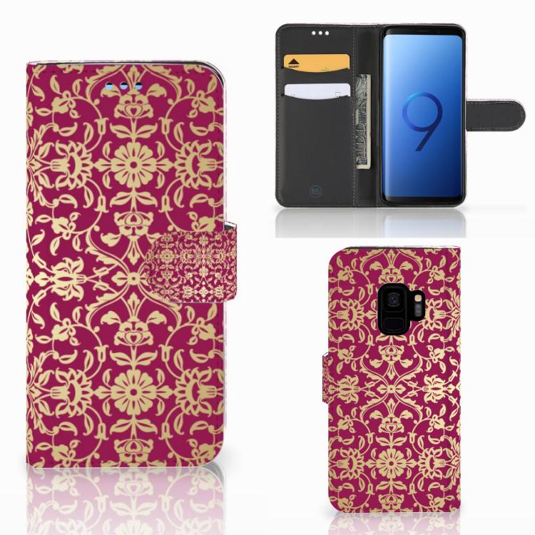 Wallet Case Samsung Galaxy S9 Barok Pink