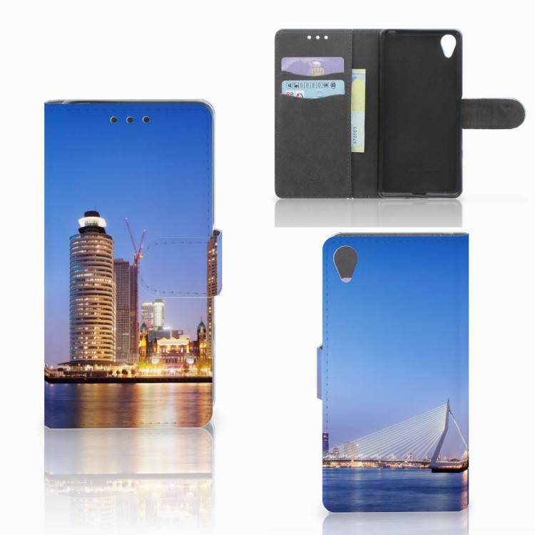 Sony Xperia X Flip Cover Rotterdam