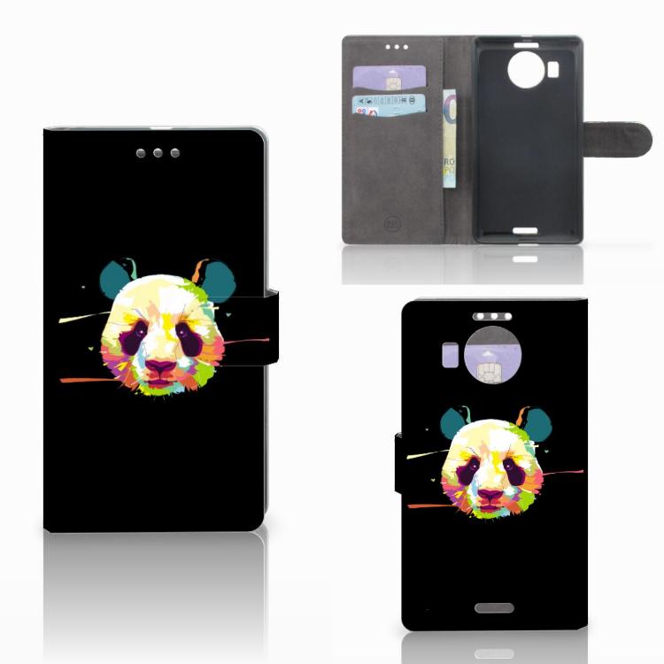 Microsoft Lumia 950 XL Leuk Hoesje Panda Color