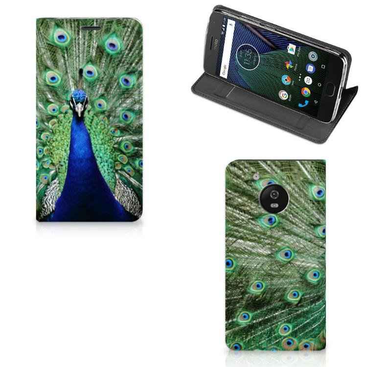 Motorola Moto G5 Hoesje maken Pauw