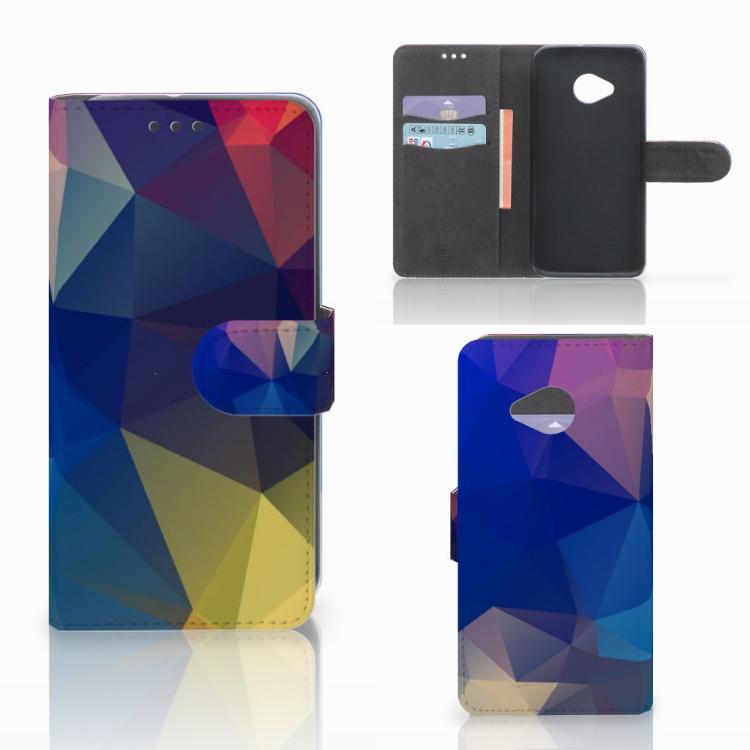 HTC U11 Life Bookcase Polygon Dark