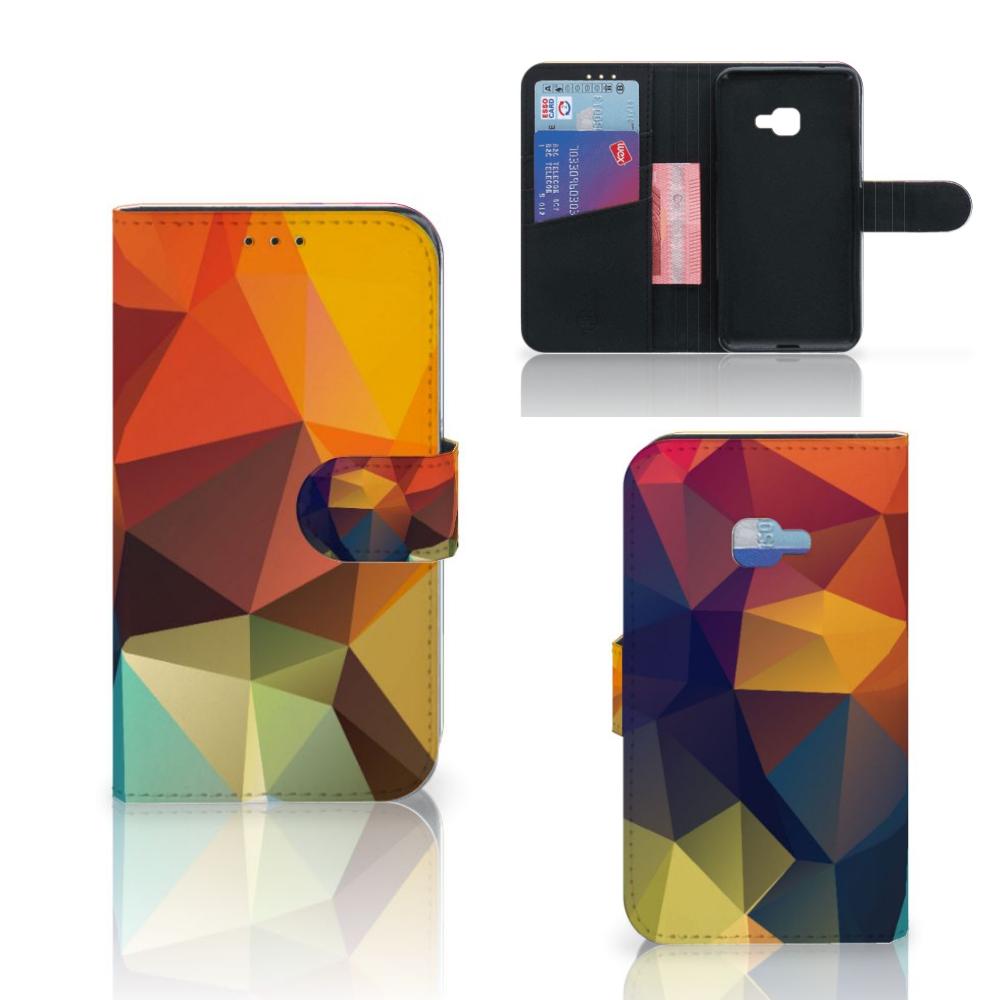 Samsung Galaxy Xcover 4 | Xcover 4s Bookcase Polygon Color