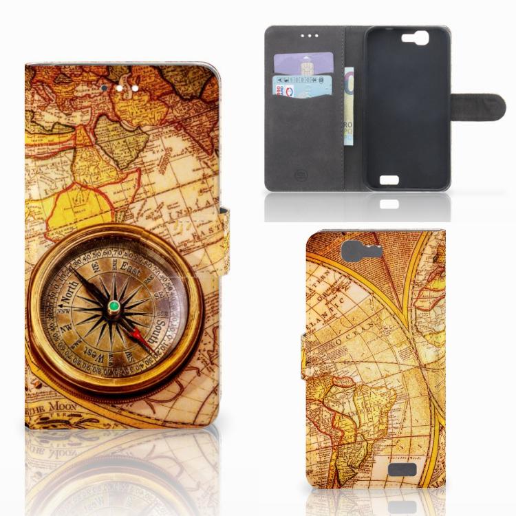 Huawei Ascend G7 Flip Cover Kompas
