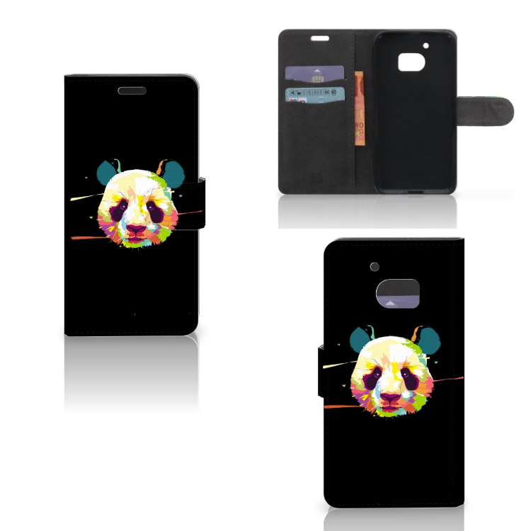 HTC 10 Leuke Hoesje Panda Color