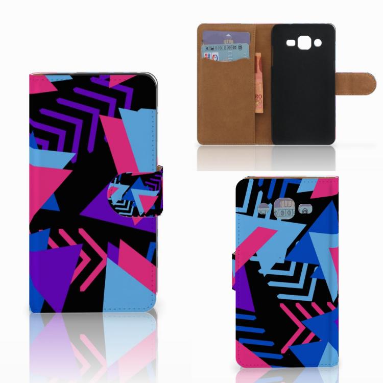 Samsung Galaxy J2 (2015) Bookcase Funky Triangle