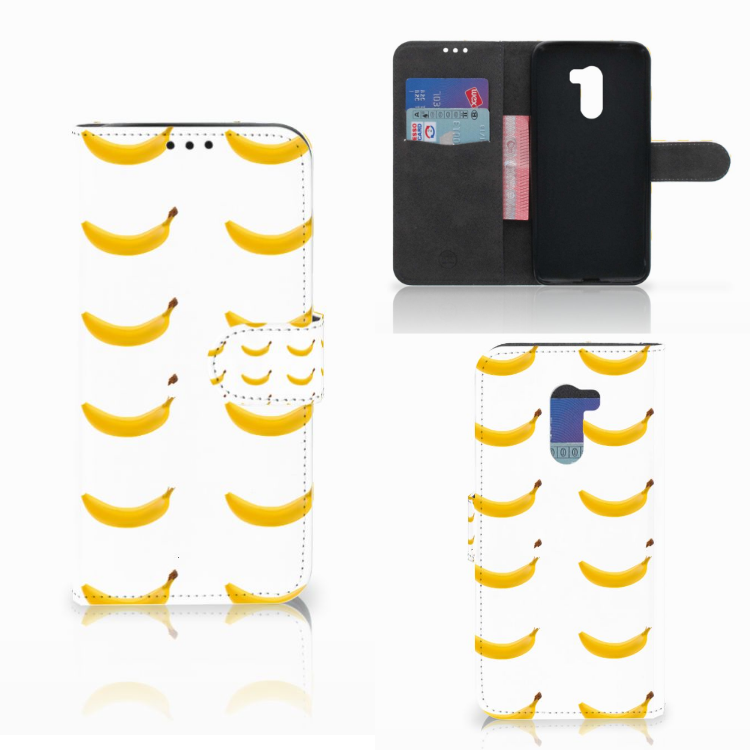 Xiaomi Pocophone F1 Book Cover Banana
