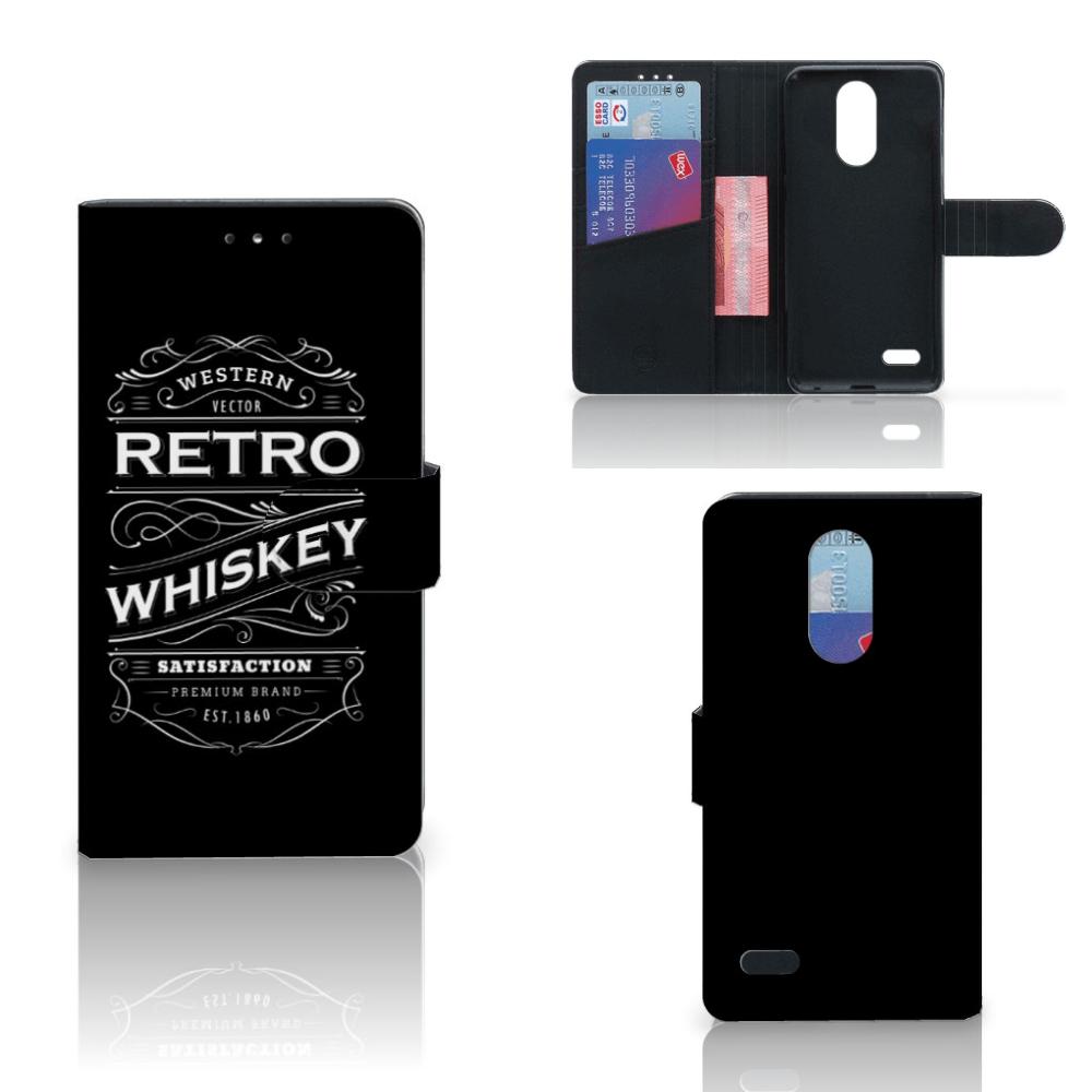 LG K10 (2017) Book Cover Whiskey