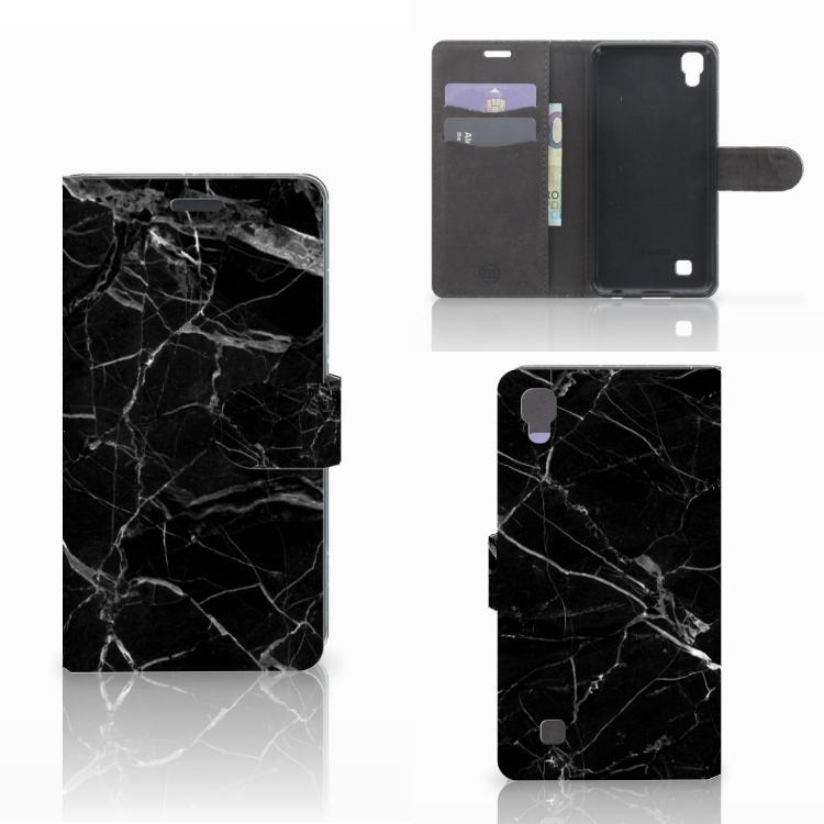LG X Power Bookcase Marmer Zwart