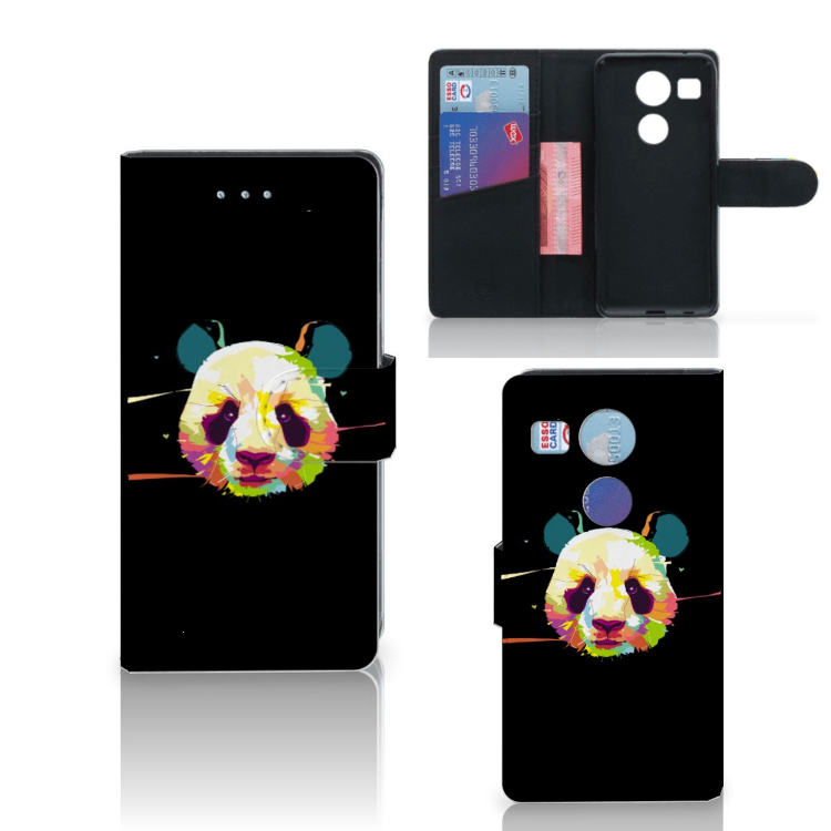 LG Nexus 5X Leuk Hoesje Panda Color