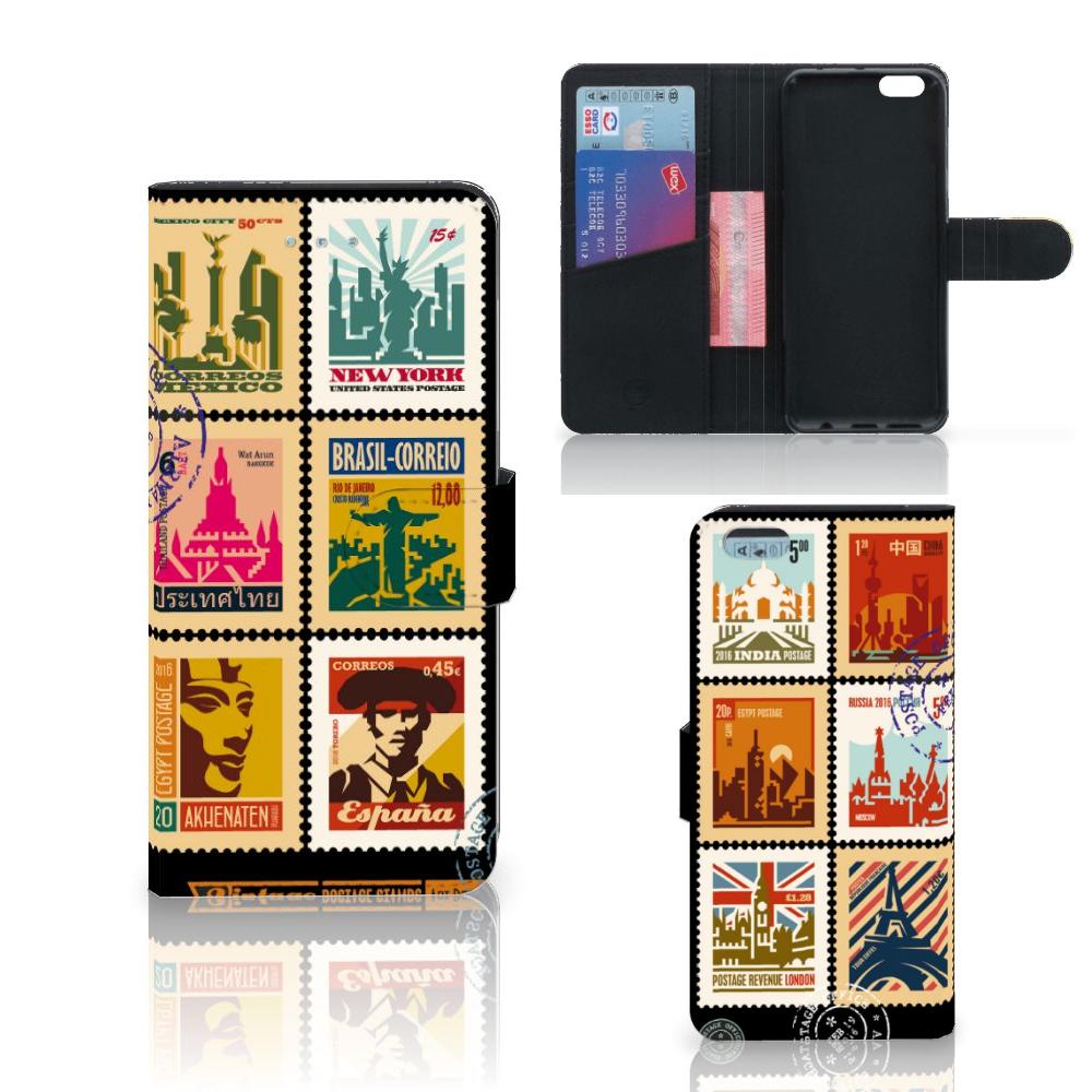 Apple iPhone 6 Plus | 6s Plus Flip Cover Postzegels