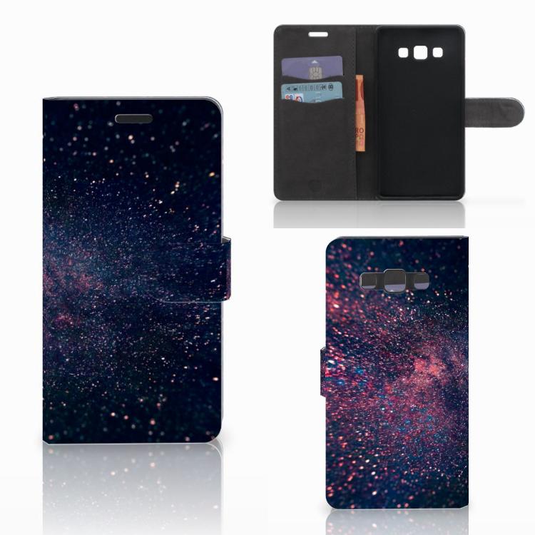 Samsung Galaxy A7 2015 Bookcase Stars