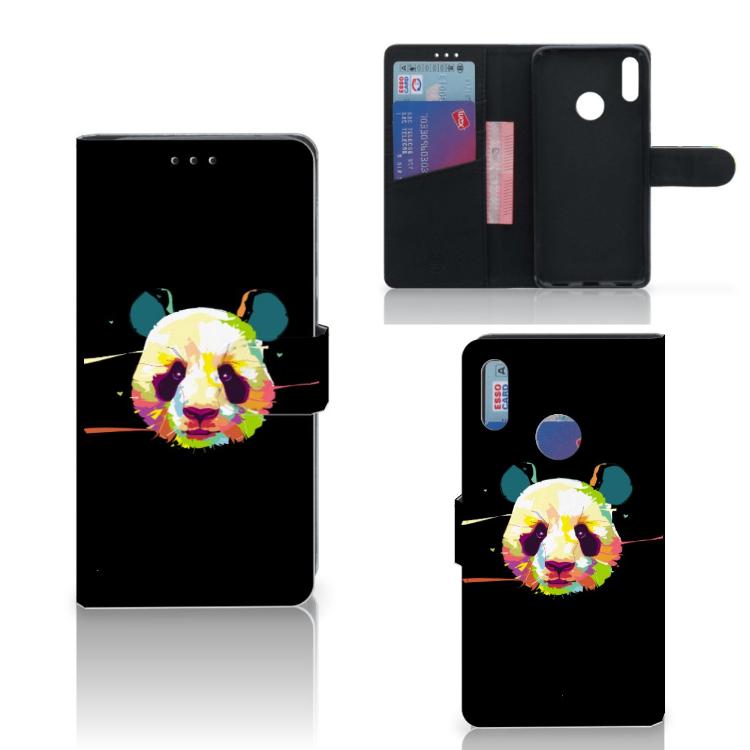 Huawei Y7 Pro | Y7 Prime (2019) Leuk Hoesje Panda Color