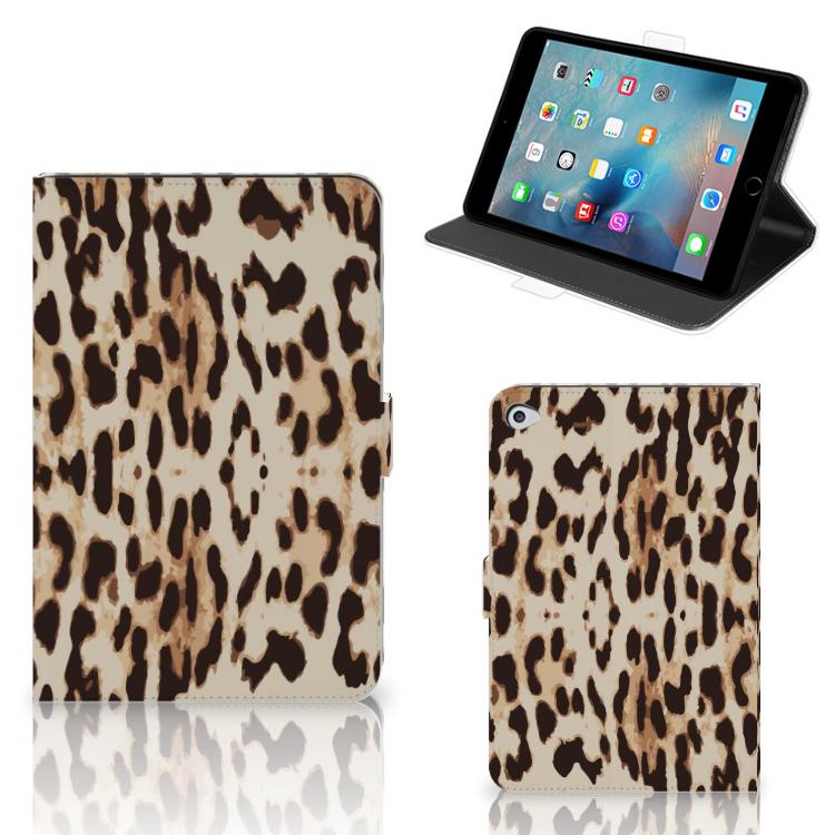 Apple iPad Mini 5 Flip Case Leopard