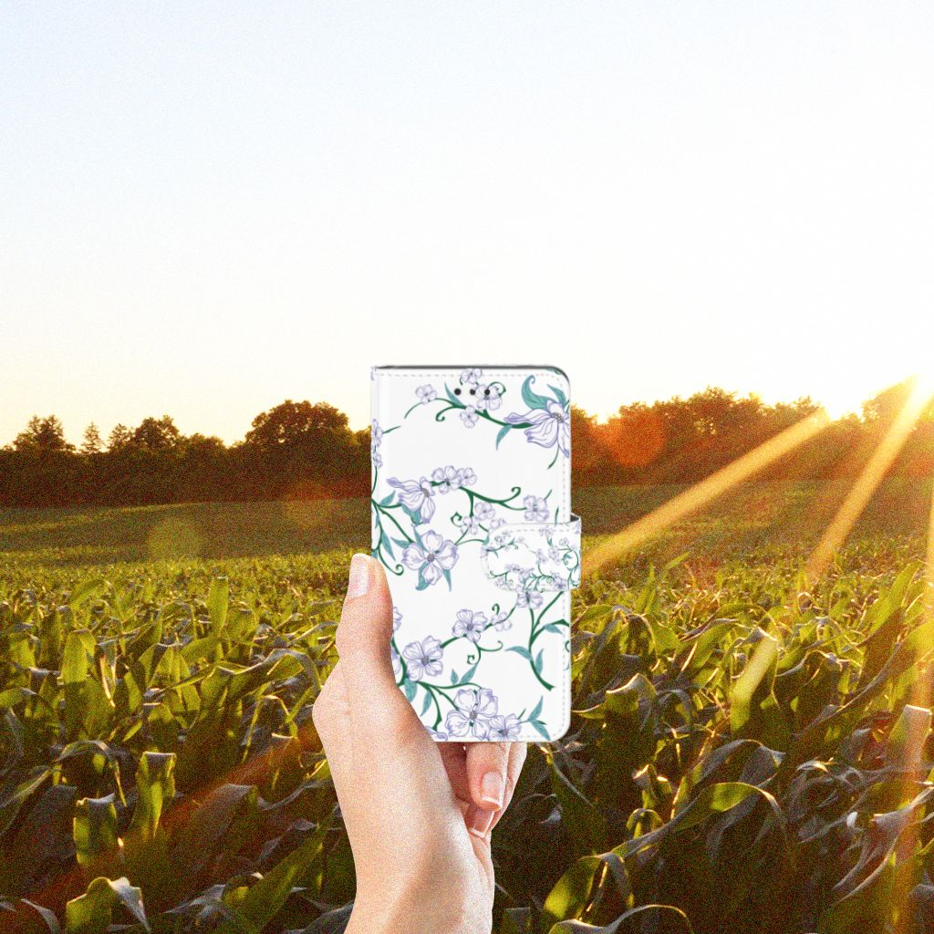 Nokia 7 Uniek Hoesje Blossom White