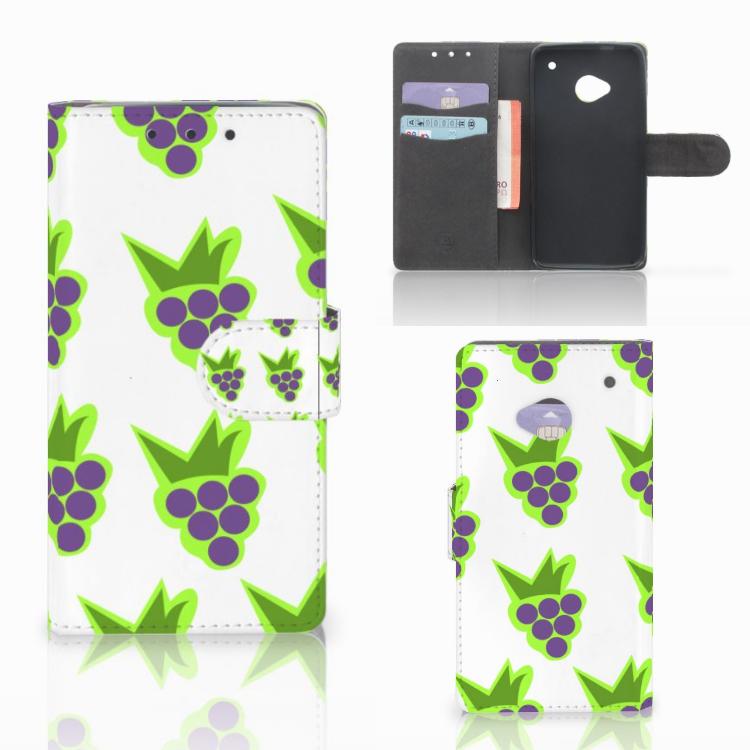 HTC One M7 Book Cover Druiven