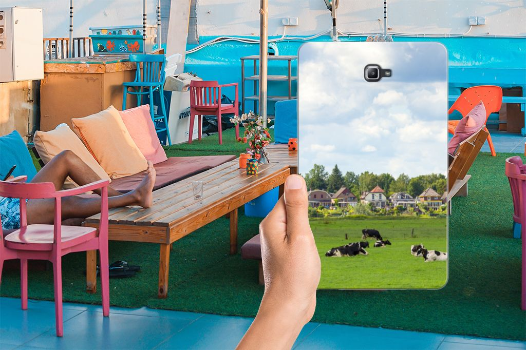 Samsung Galaxy Tab A 10.1 Back Case Koeien