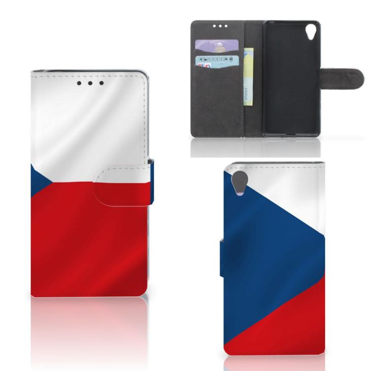 Sony Xperia X Bookstyle Case Tsjechië