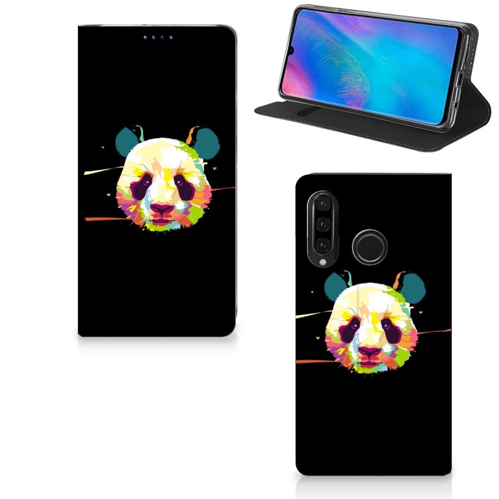 Huawei P30 Lite Magnet Case Panda Color