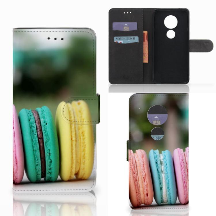 Motorola Moto E5 Play Book Cover Macarons