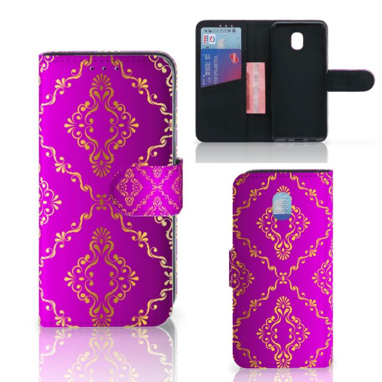 Wallet Case Samsung Galaxy J3 (2018) Barok Roze