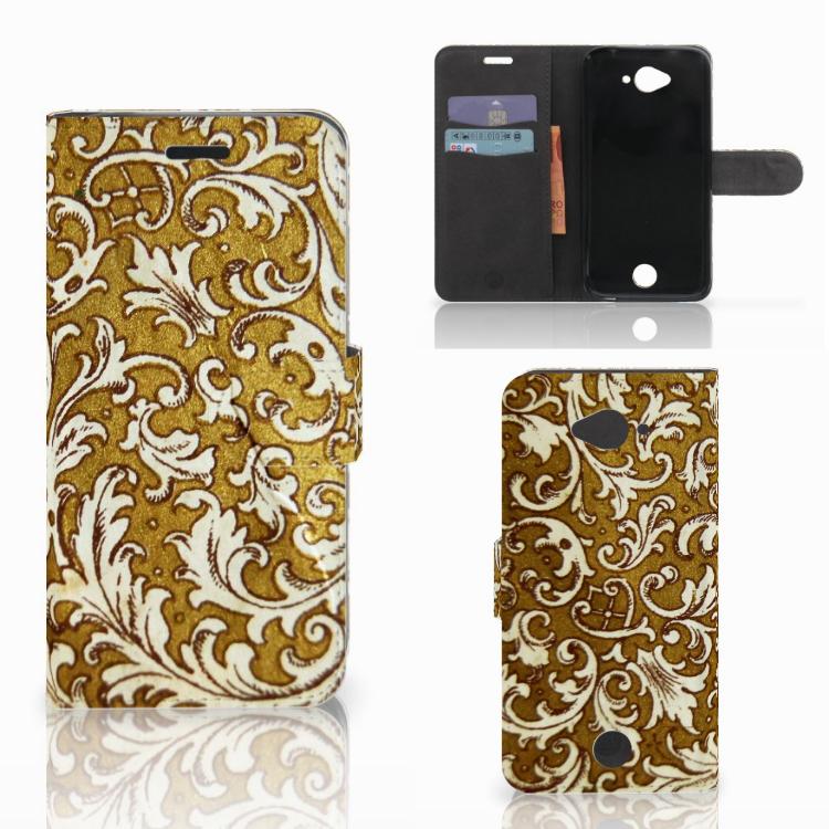 Wallet Case Acer Liquid Z530 | Z530s Barok Goud