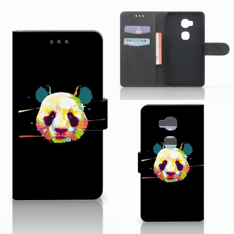 Huawei Honor 5X Leuke Hoesje Panda Color