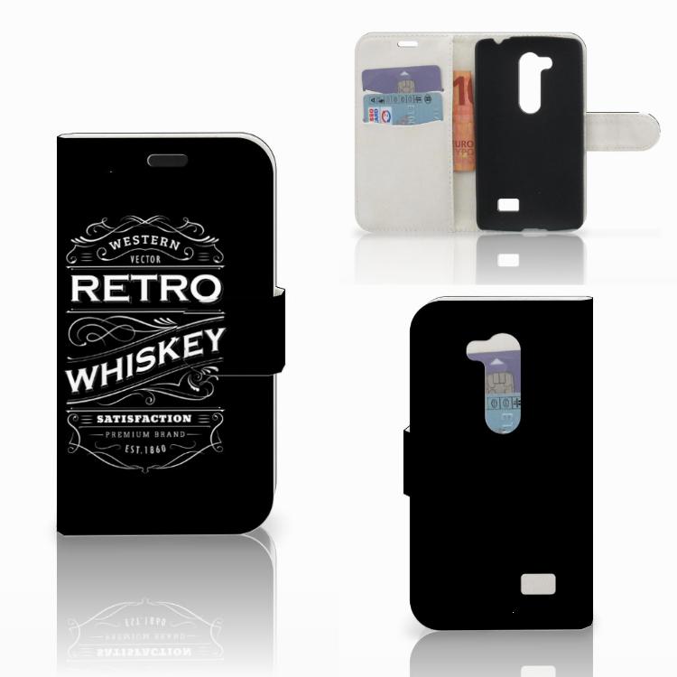 LG L Fino Book Cover Whiskey