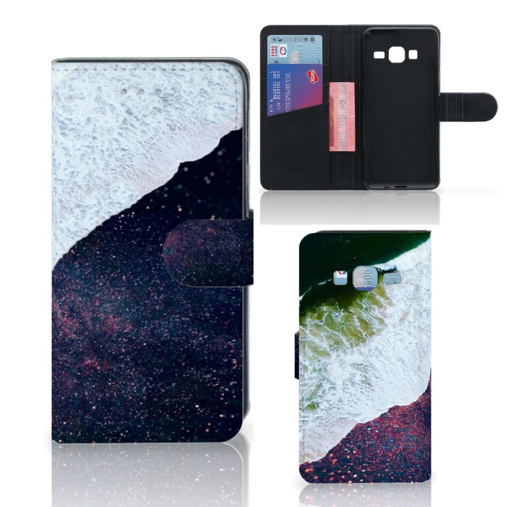 Samsung Galaxy J3 2016 Bookcase Sea in Space