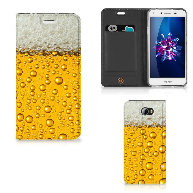 Huawei Y5 2   Y6 Compact Flip Style Cover Bier