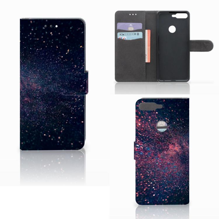 Huawei Y7 2018 Bookcase Stars