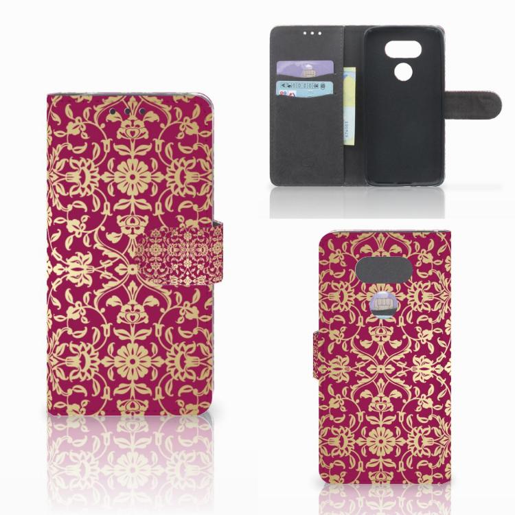 Wallet Case LG G5 Barok Pink
