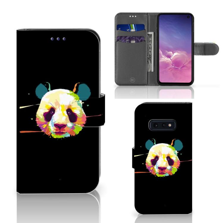 Samsung Galaxy S10e Leuk Hoesje Panda Color