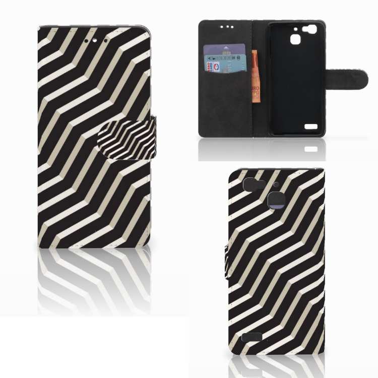 Huawei P8 Lite Smart (GR3) Bookcase Illusion
