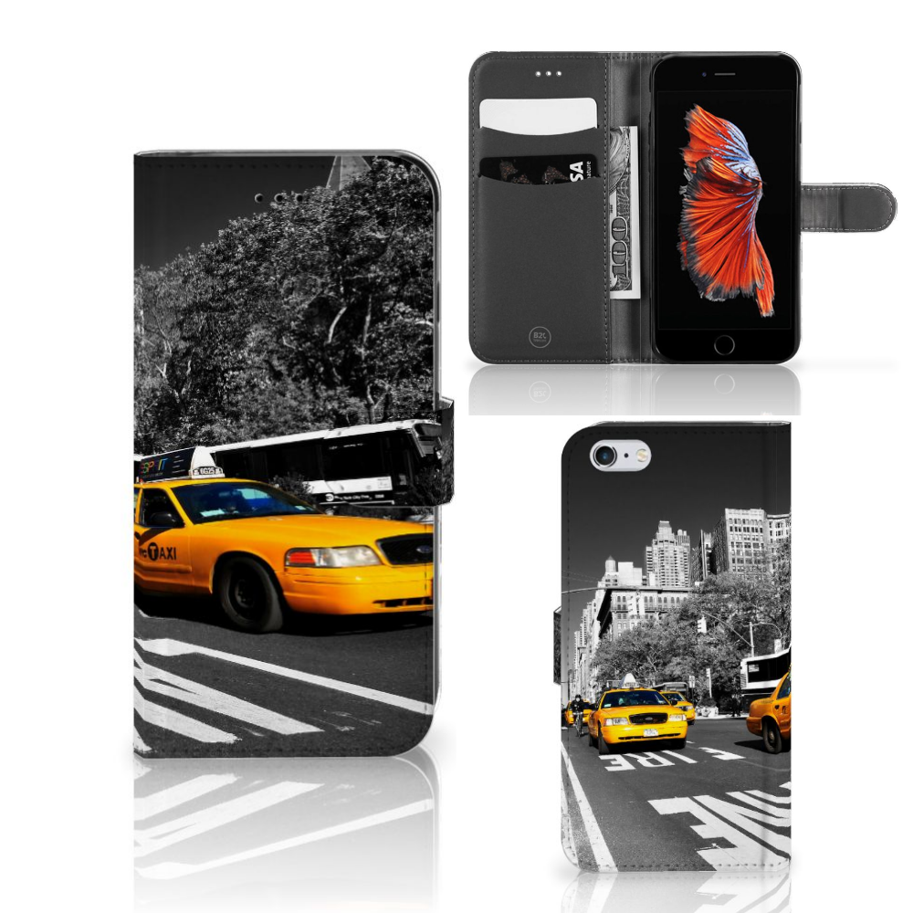 Apple iPhone 6 Plus | 6s Plus Flip Cover New York Taxi